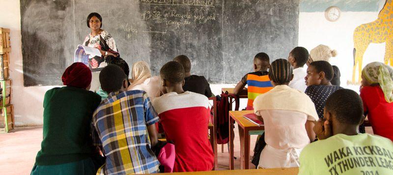 Educación ONG Tanzania