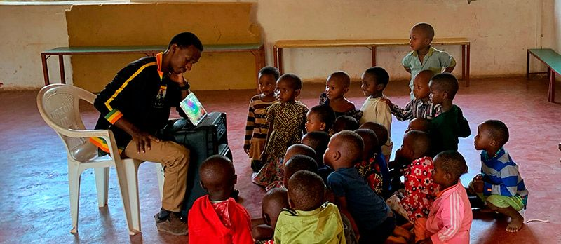 NGO Tanzania school
